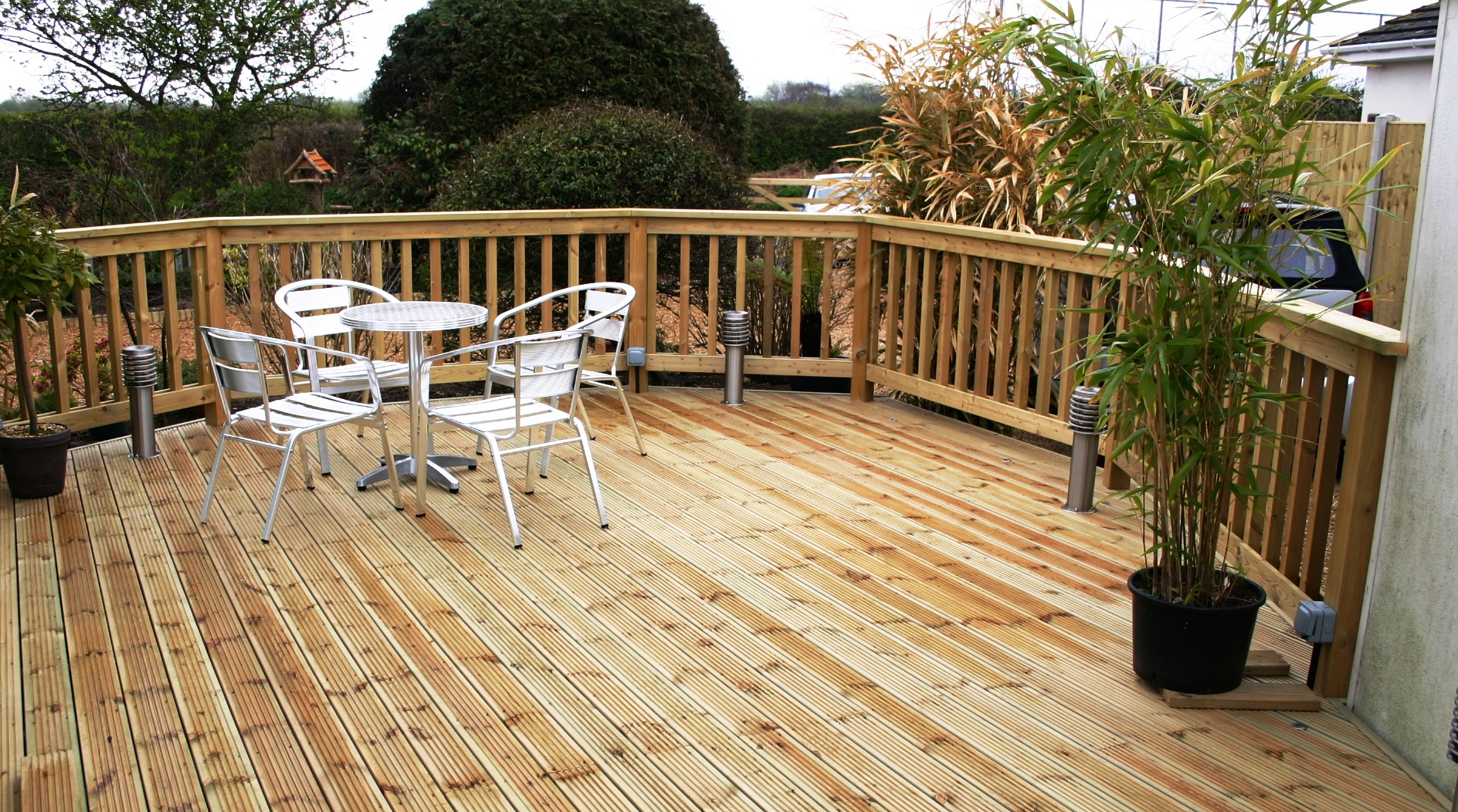another project for decking in newcastle
