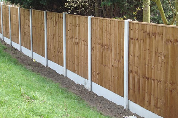 recent project for garden fencing in newcastle